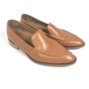 Everlane Brown Tan Loafer Slip on Flats Size 7